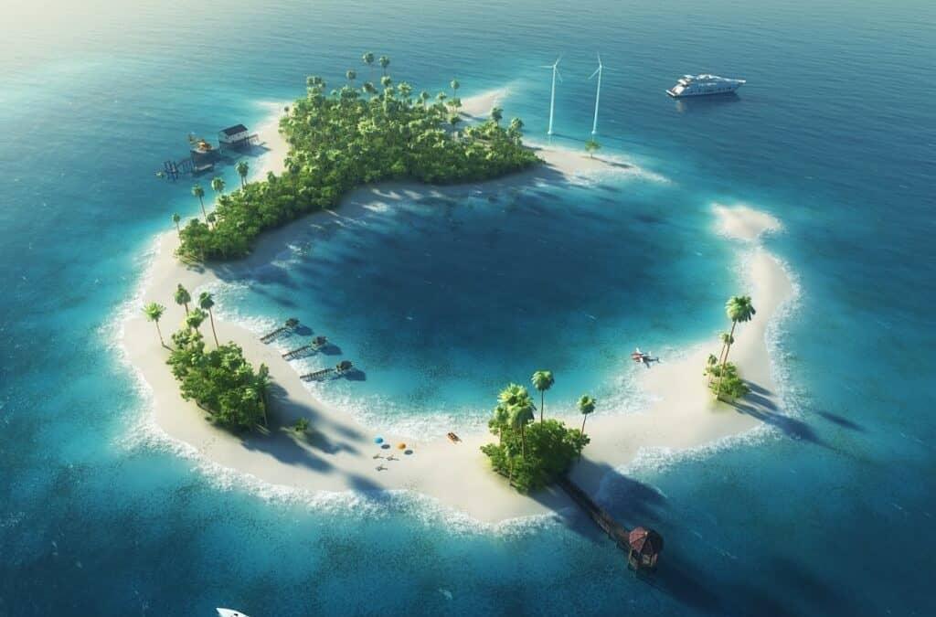 Drømmer du dig også hen på en tropisk ø?