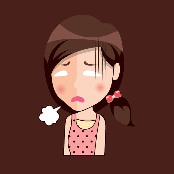 Er det symptomer på stress?