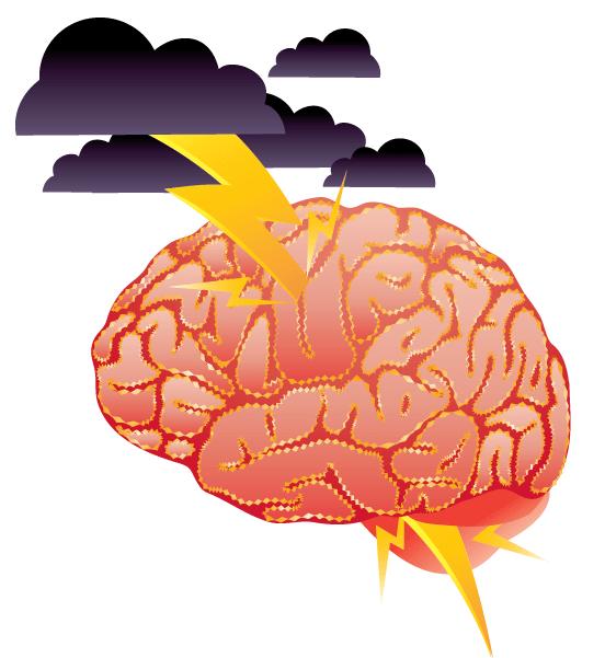 Tankemylder hjerne